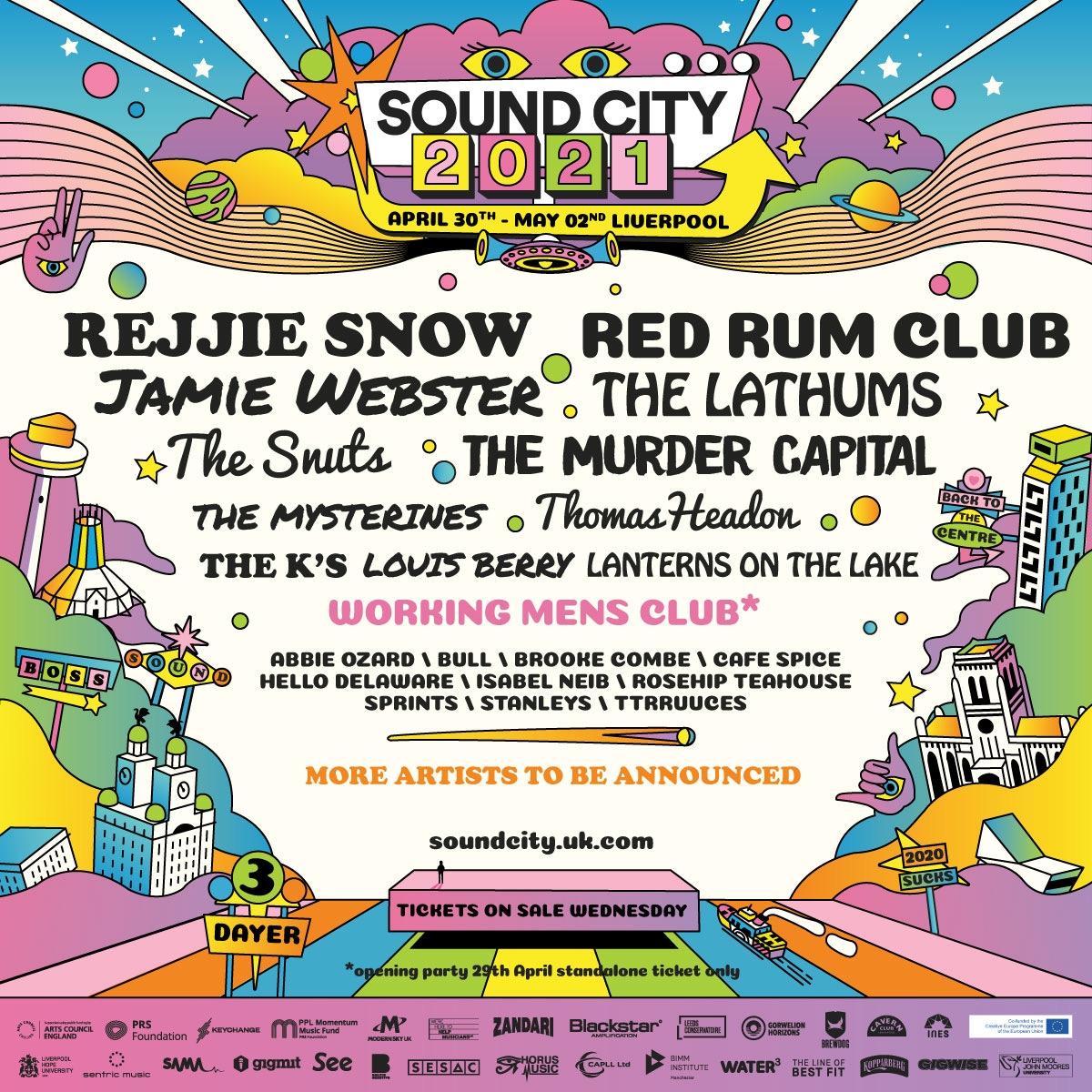 Sound City 2021 Announcement