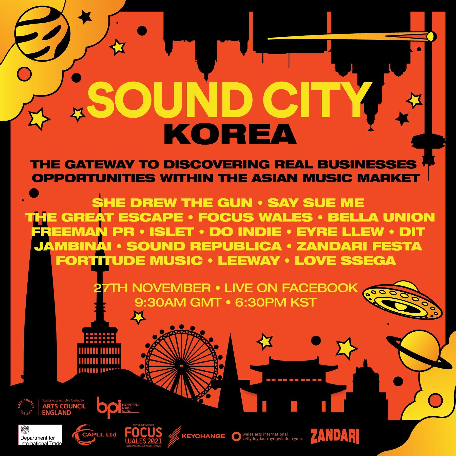 Sound City Korea 2020 revealed!