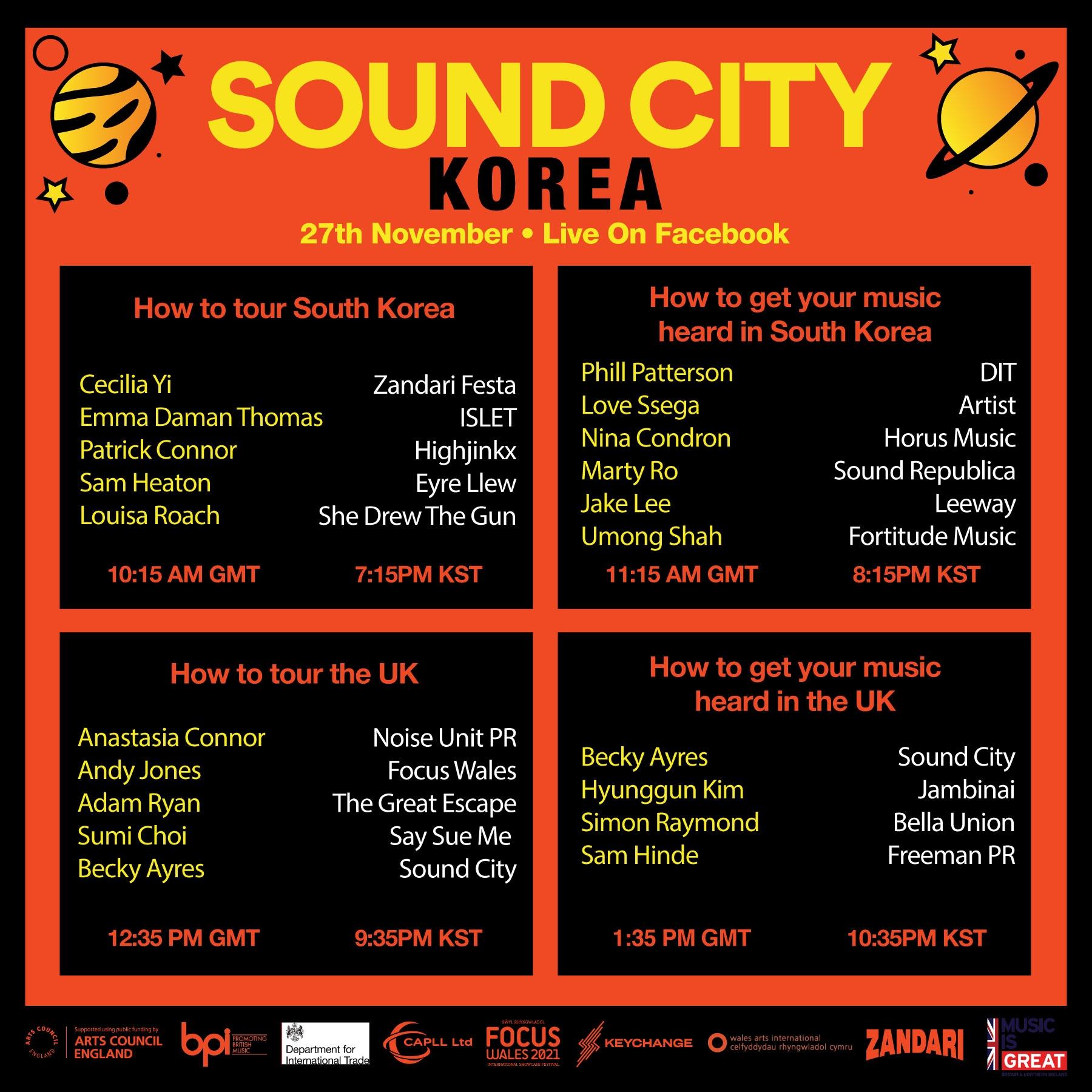 Sound City Korea 2020....