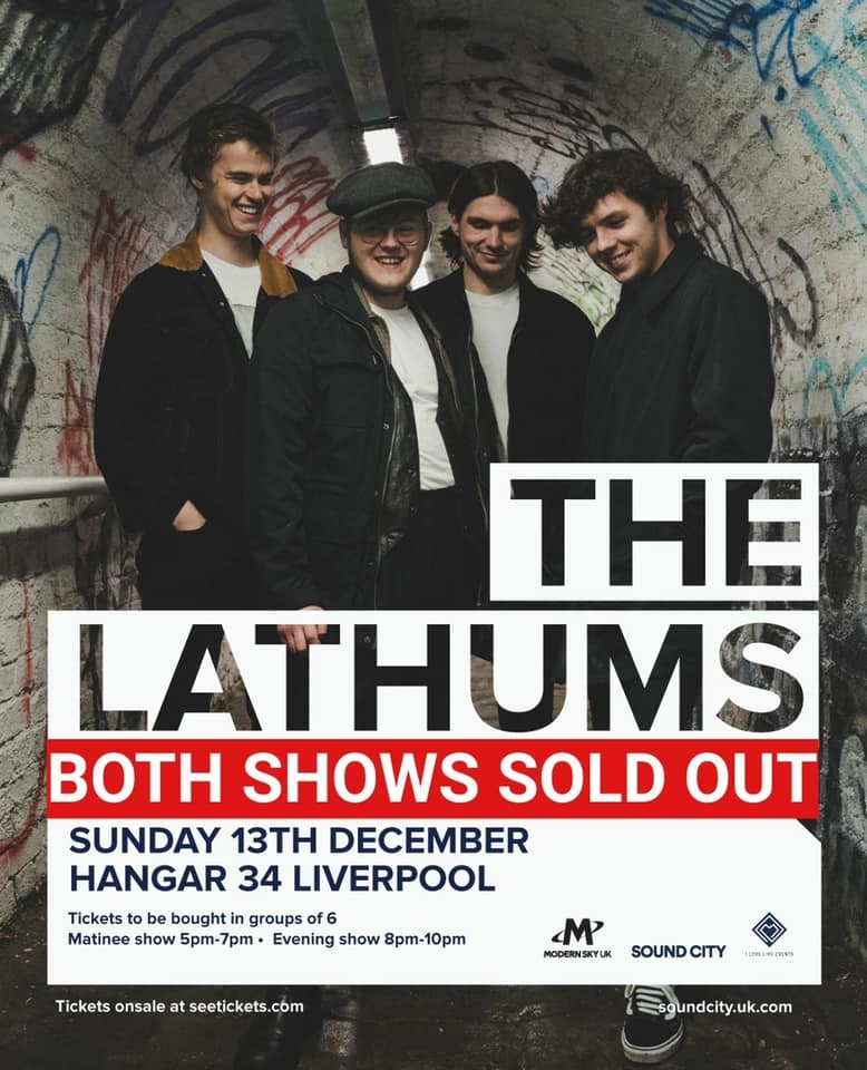 The Lathums Socially Distanced Shows SELLS OUT in seconds