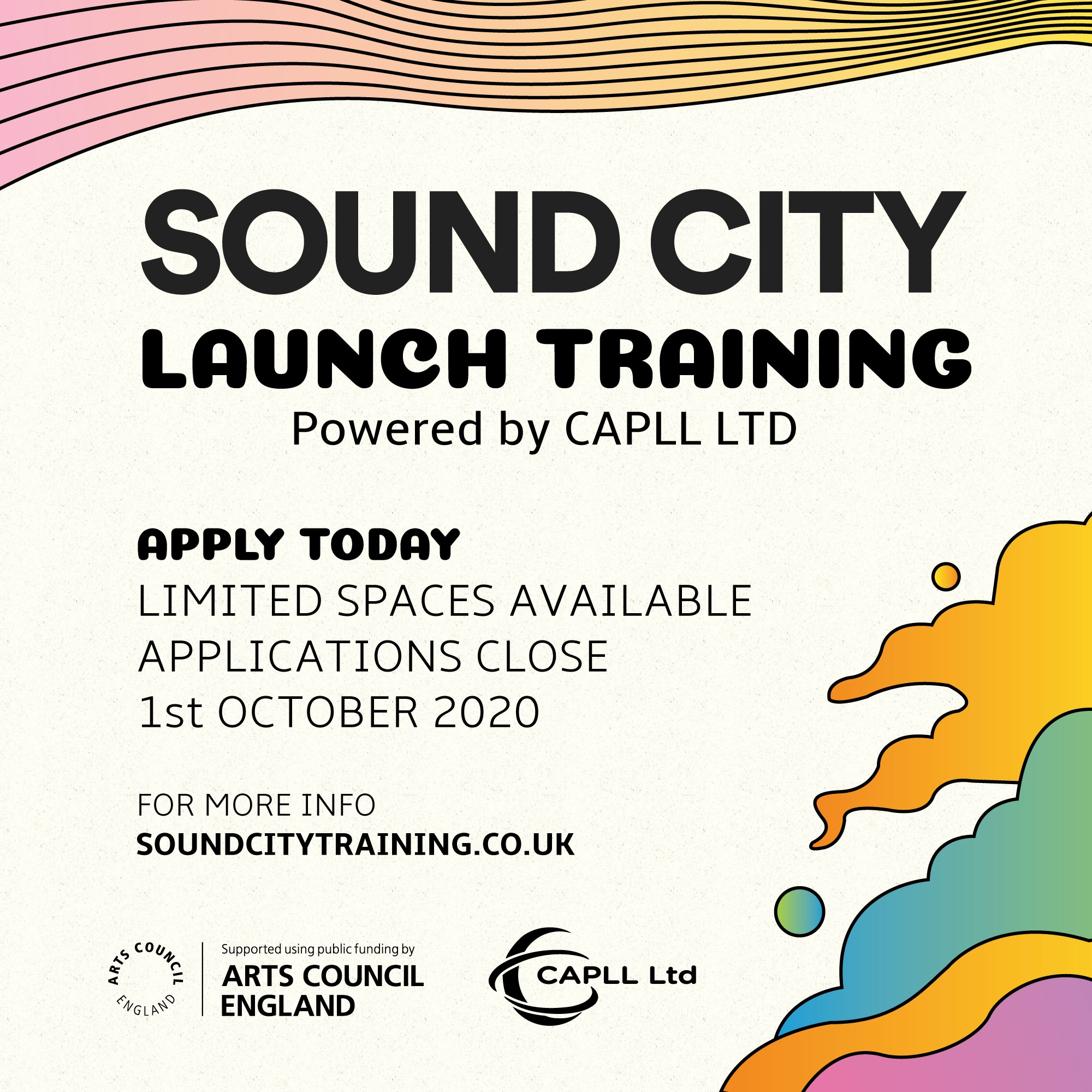 Sound City Launch Training applications are open now!
