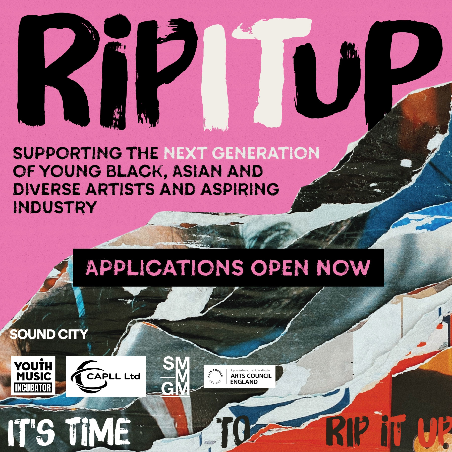 Rip It Up: A new bursary programme for diverse talent