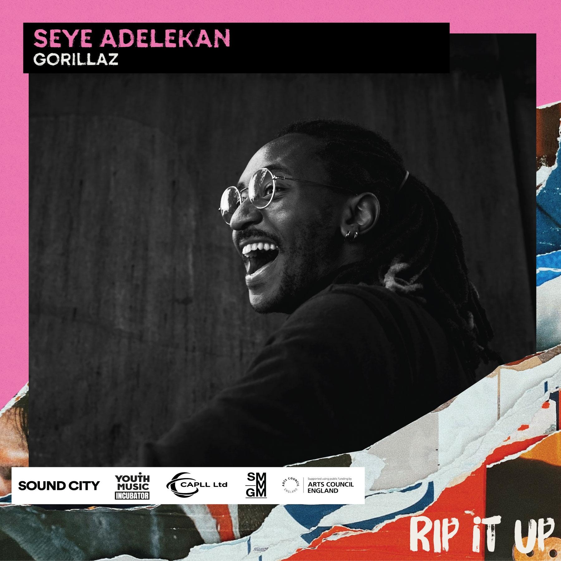 Meet Rip It Up's Seye Adelekan