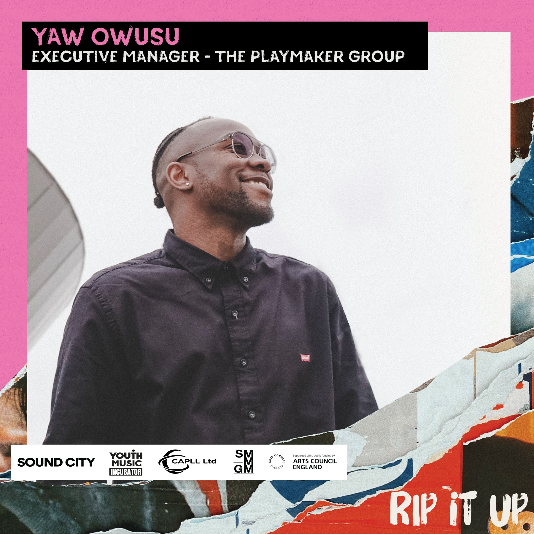 Meet Rip It Up's Yaw Owusu