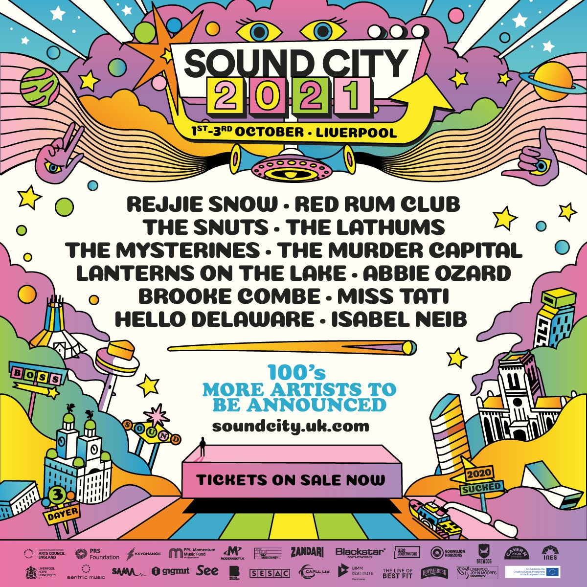 Sound City 2021 moves to October!