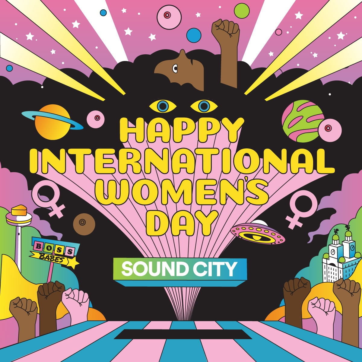 Sound City's International Women's Day celebrations