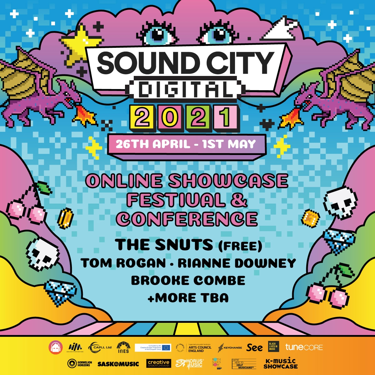 SOUND CITY DIGITAL RETURNS WITH THE SNUTS, RIANNE DOWNEY & MORE