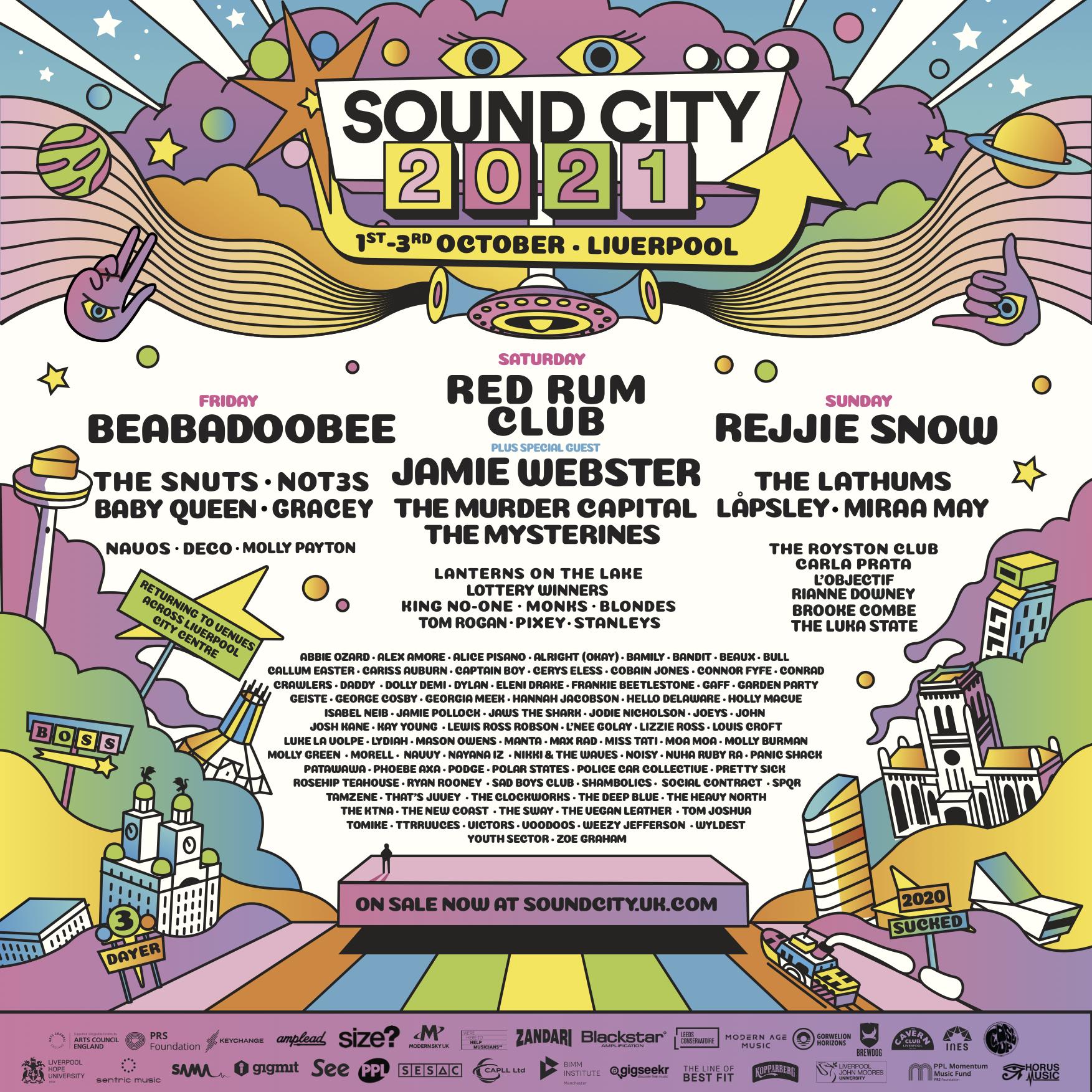 SOUND CITY 2021: FRIDAY HEADLINER REVEALED