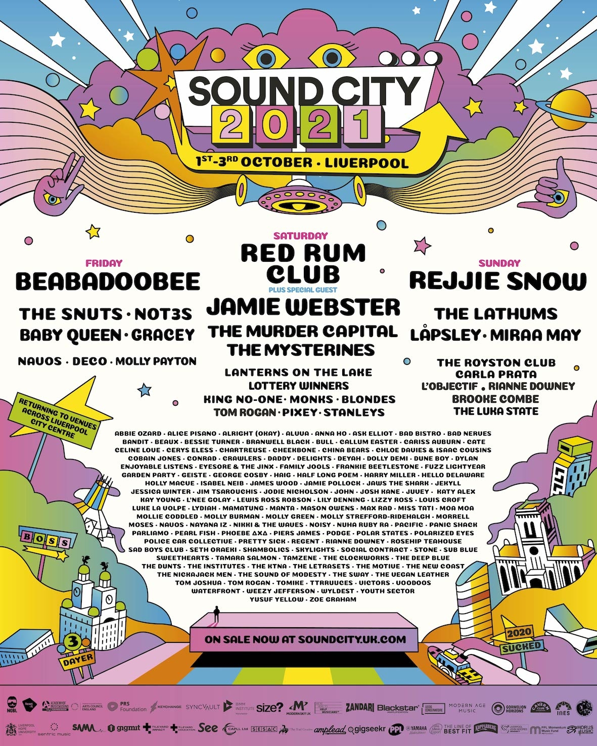 50+ Artists Added To Sound City 2021 Line-Up