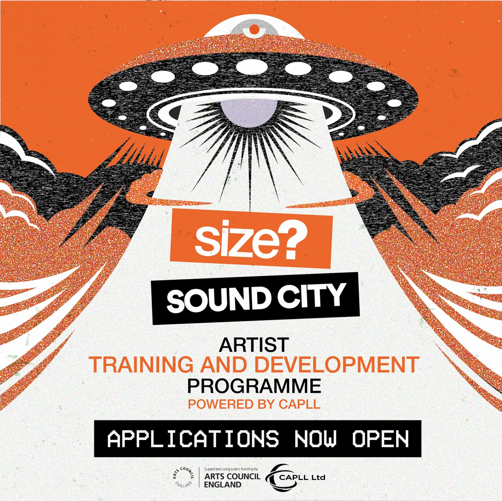 size? Artist Training and Development Programme Powered By CAPLL
