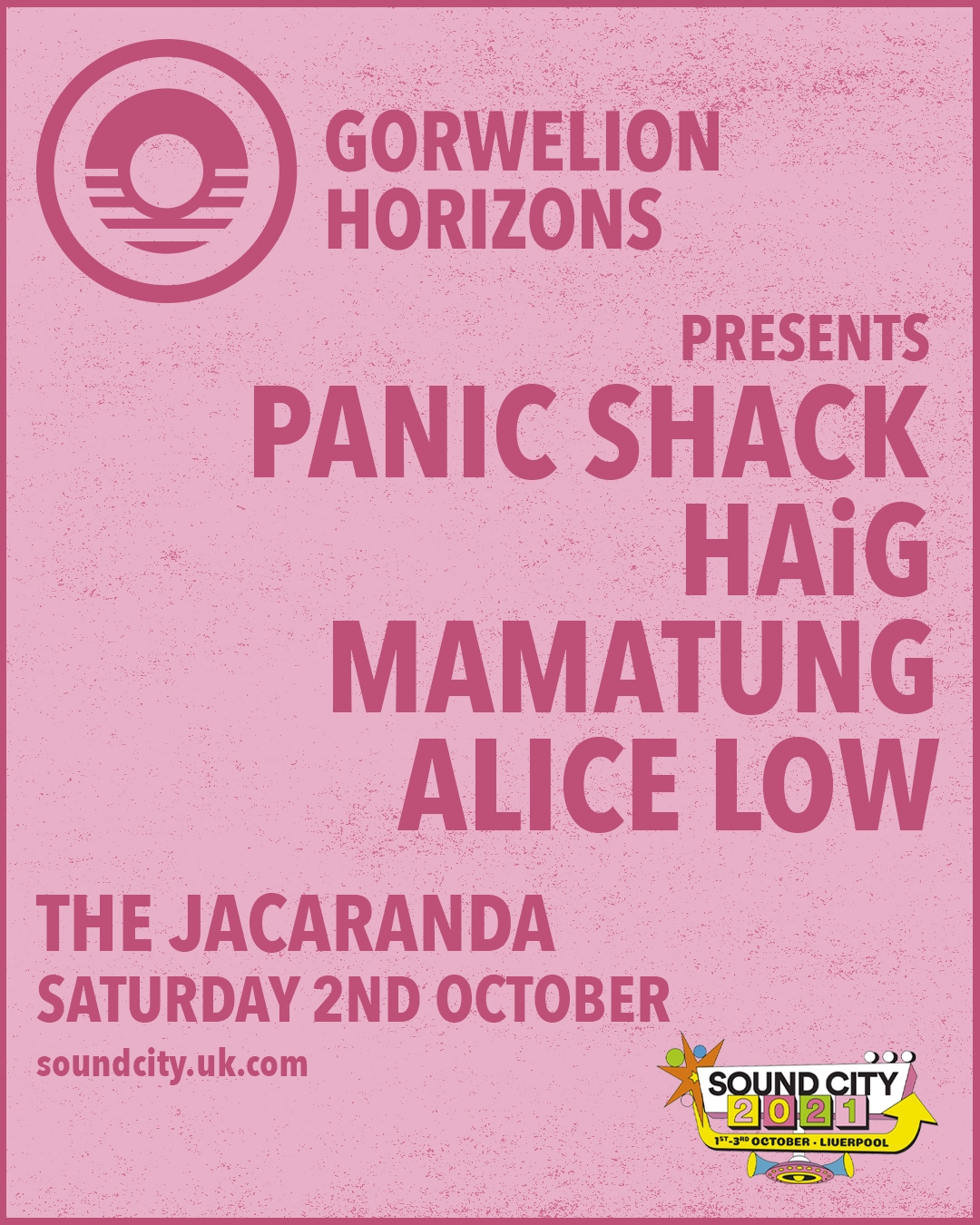 A wild welsh showcase on the cards for Jacaranda!