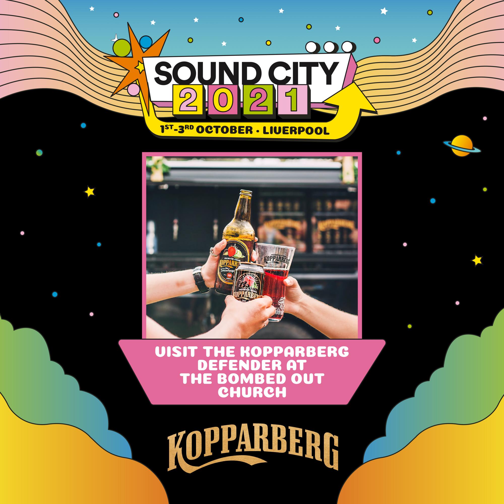 Kopparberg at Sound City 2021!