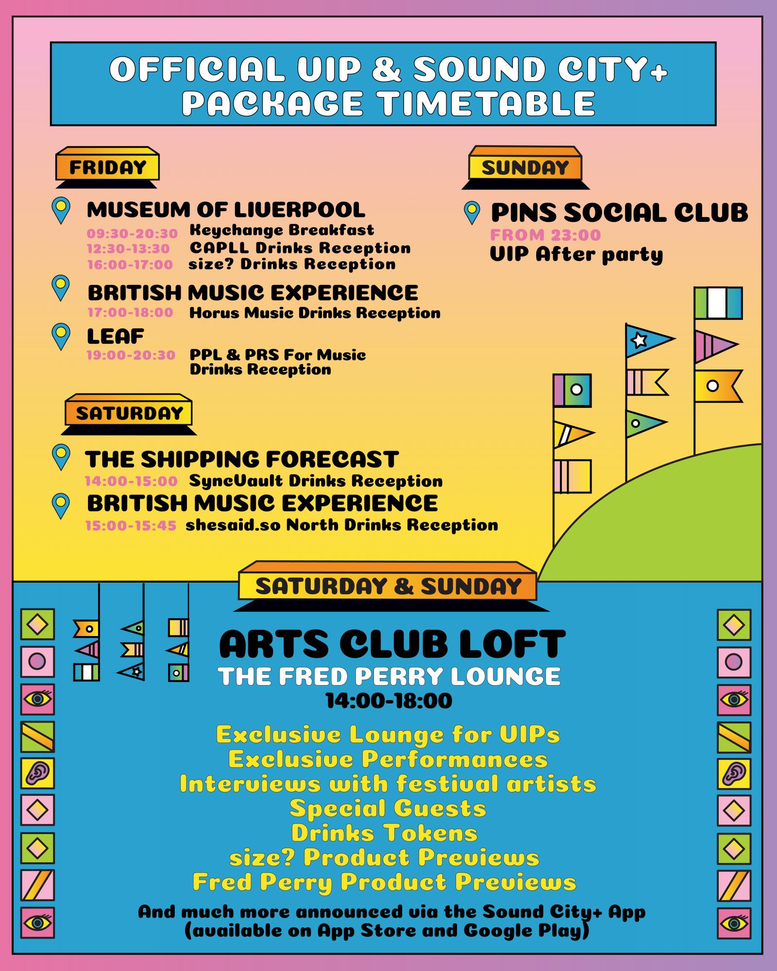 Sound City VIP Programme Revealed