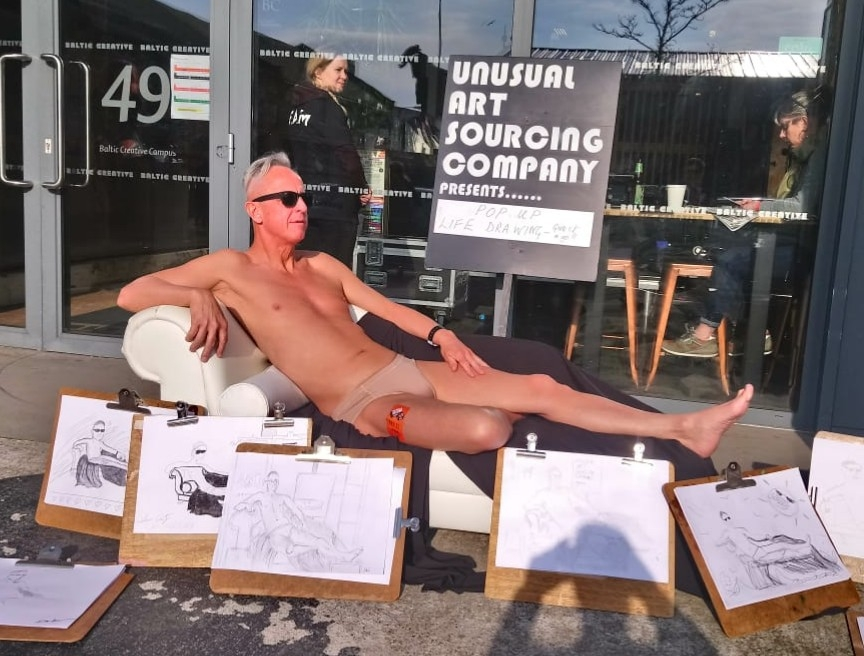 Pop Up Life Drawing